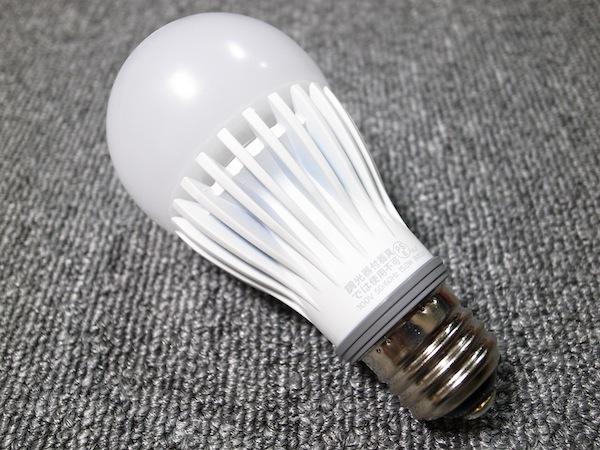 全光束1520 lm!白熱電球100w形相当のLED電球は眩しいくらいに明るくて省電力!